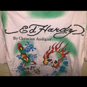 ED HARDY Jeweled T-shirt. Very cool!